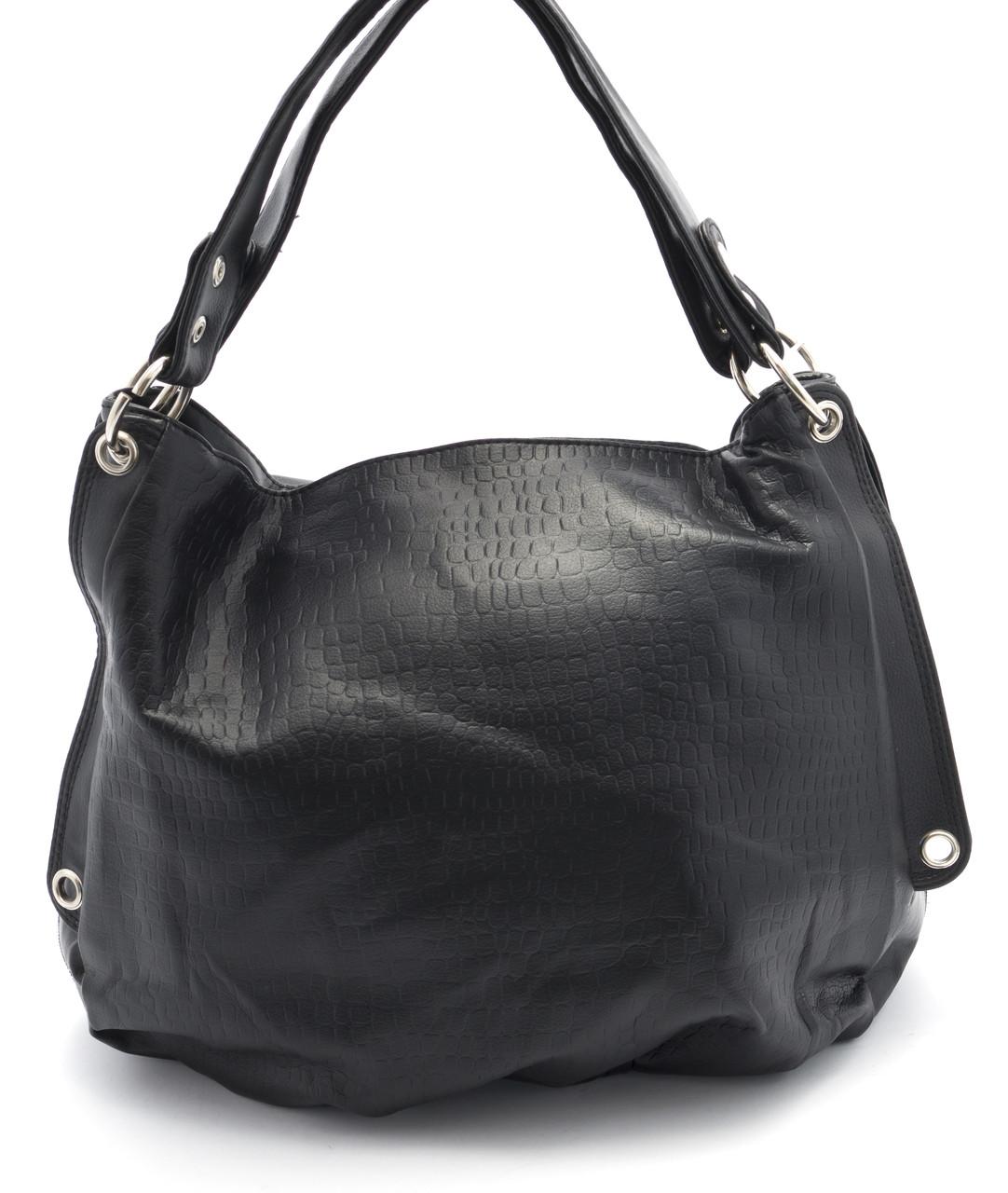 Вместительная и практичная женская сумка  Б/Н art. 11805 черный цвет