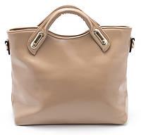 Классическая стильная женская сумочка  Б/Н art. 1408 бежевая