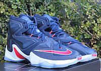 Кроссовки мужские Баскетбольные Nike LeBron 13 blue
