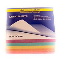 Бумага цветная для записей Декор 90х90х500