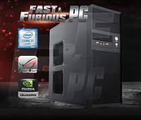Графическая станция FF Mesh Intel Xeon 8/16 Core 2.4GHz/ 32GB /8GB M4000 QUADRO/ 120 SSD/ 1TB /850W