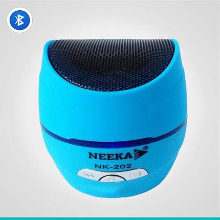 Портативная колонка Neeka NK-202 Bluetooth, фото 2