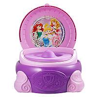 Tomy Мой первый горшок Принцессы диснея 3 в 1 The First Years Disney Princess Magic Sparkle 3-In-1 Potty System