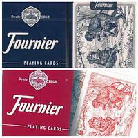 Карты покерные Fournier Monkey Back пластиковое покрытие