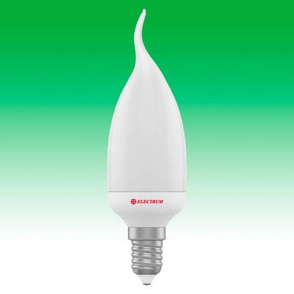 Светодиодная лампа LED 4W 2700K E14 ELECTRUM LC-5 (A-LC-1801), фото 2
