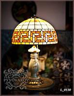 Витражный ночной светильник в стиле Тиффани