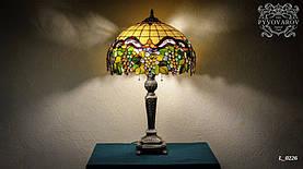 Витражный светильник Виноград в технике Тиффани