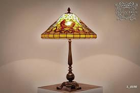 Настольная лампа Luxury ручной работы в стиле Тиффани