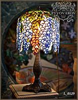 Настольный лампа Вистерия по технике Тиффани