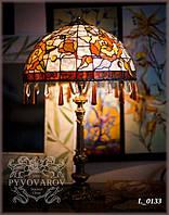 Настольный светильник Luxury для дома из кусочков цветного стекла