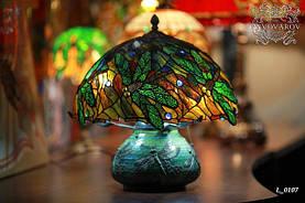Настольный светильник Стрекоза в стиле Тиффани