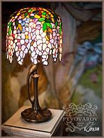 Светильник Luxury для кабинета из кусочков цветного стекла