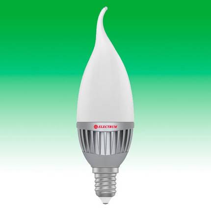 Светодиодная лампа LED 5W 4000K E14 ELECTRUM LC-14 (A-LC-1760), фото 2