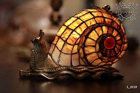 Luxury Светильнник Улитка ручной работы в стиле Тиффани