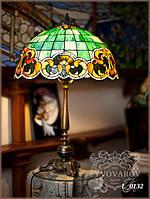 Luxury Лампа для кабинета из кусочков цветного стекла Тиффани