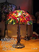 Luxury Светильник для дома из кусочков цветного стекла в стиле Тиффани