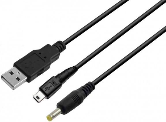 USB кабель для PSP с подзарядкой