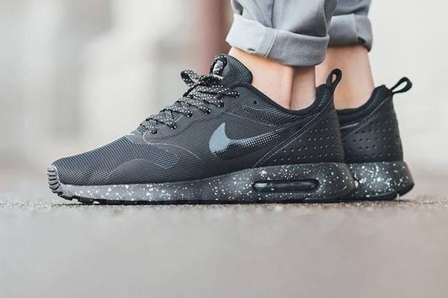 Кроссовки мужские Nike Air Max Tavas Black grey, фото 2