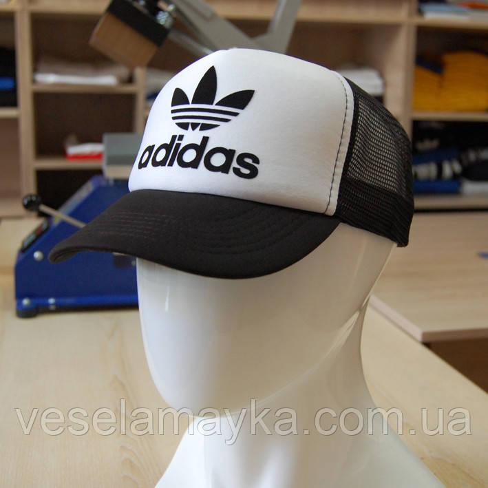 Черная кепка тракер Adidas