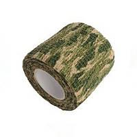 Камуфляжная клейкая лента, скотч хаки, 5см х 4.5м