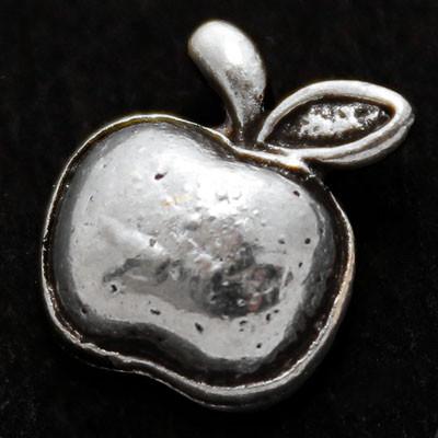 Кулон Яблоко, Металл, Цвет: Античное Серебро, Размер: 11х9х3мм, (УТ000006362)