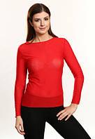 Мира красная блузка сетка