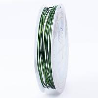 Медная Проволока 1мм/2.5м, Цвет: Зеленый, Толщина 1 мм, около 2.5м/моток, (УТ0028122)