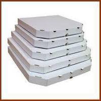 Коробки для пиццы, 200х200х37, белые