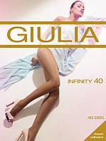 Колготки женские плотностью 40den премиум класса Infinity40 от торговой марки Giulia