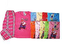 Пижама для девочек трикотажная, размеры  98/104,110/116, арт. 698