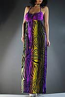 Цветной стильный сарафан