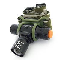 Налобный фонарь bailong bl-6660, аккумуляторный фонарик, фонарик на голову