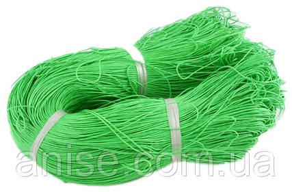 Шнур Вощеный Хлопковый, Цвет: Салатовый, Размер: Толщина 1мм, около 85м/связка, (УТ000004795)