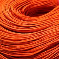 Шнур Вощеный Хлопковый, Цвет: Морковный, Размер: Толщина 1мм, около 80м/связка, (УТ000003375)
