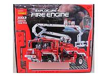 Конструктор Пожарная машина с лесницей