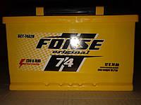 Аккумулятор автомобильный Forse 6СТ-74 АзЕ