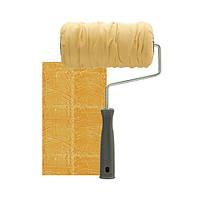 Валик декоративный Мятая Кожа Leather Effect Roller 20см, фото 1