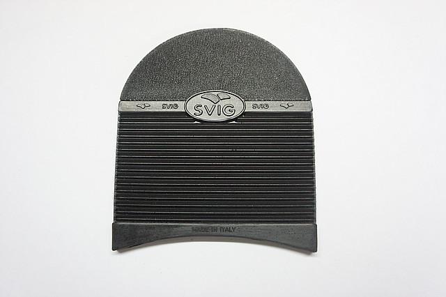 Набойка резиновая SVIG №425 р.4 т. 7,0 мм.  чер. (Италия)