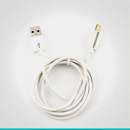 USB кабель Kingleen с разъемом Lightning K-05, фото 2