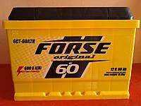 Аккумулятор автомобильный Forse 6СТ-60 Аз