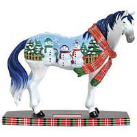 Статуэтка Лошадь Снеговик