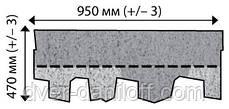 Битумная черепица IKO - ArmourShake, архитектурного стиля, фото 2