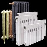 Радиаторы отопления: стальные, алюминиевые, чугунные, биметаллические, фото 2