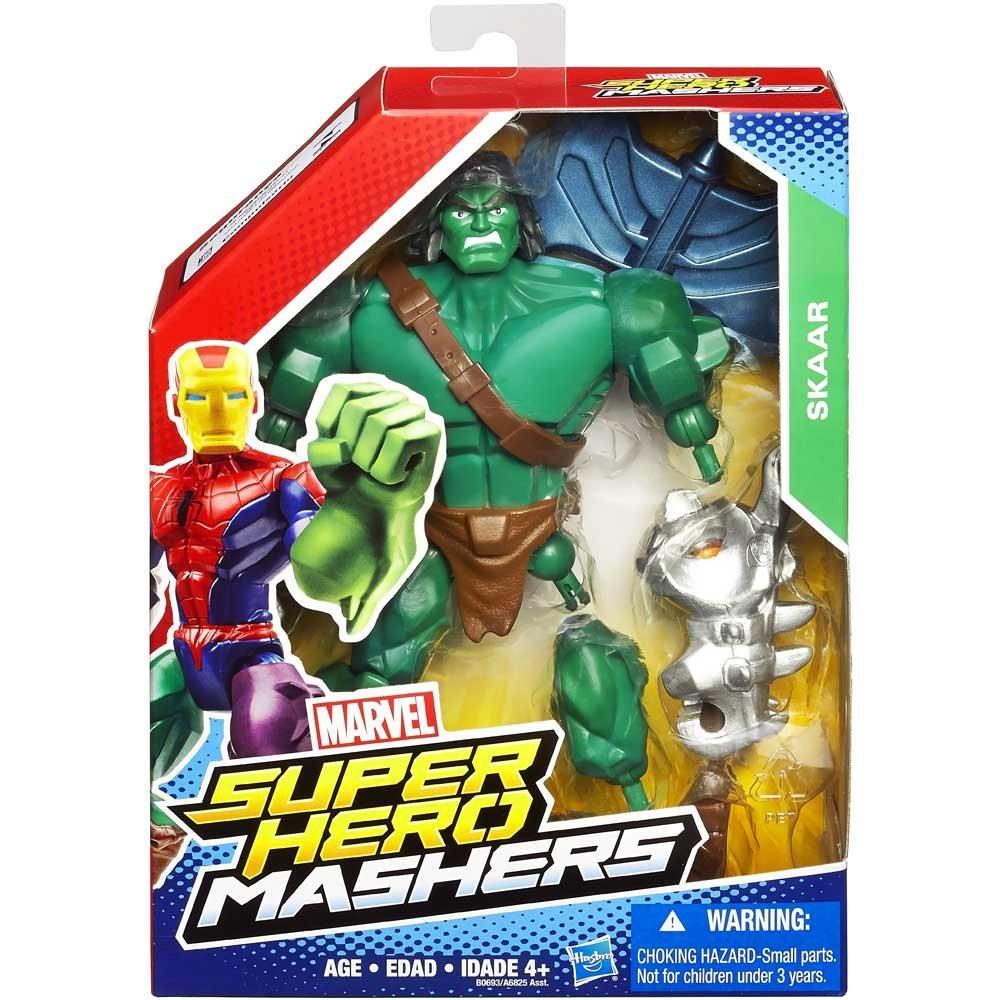 Разборные фигурки супергероев, Скар - Skaar, Super Hero Mashers, Marvel, Hasbro