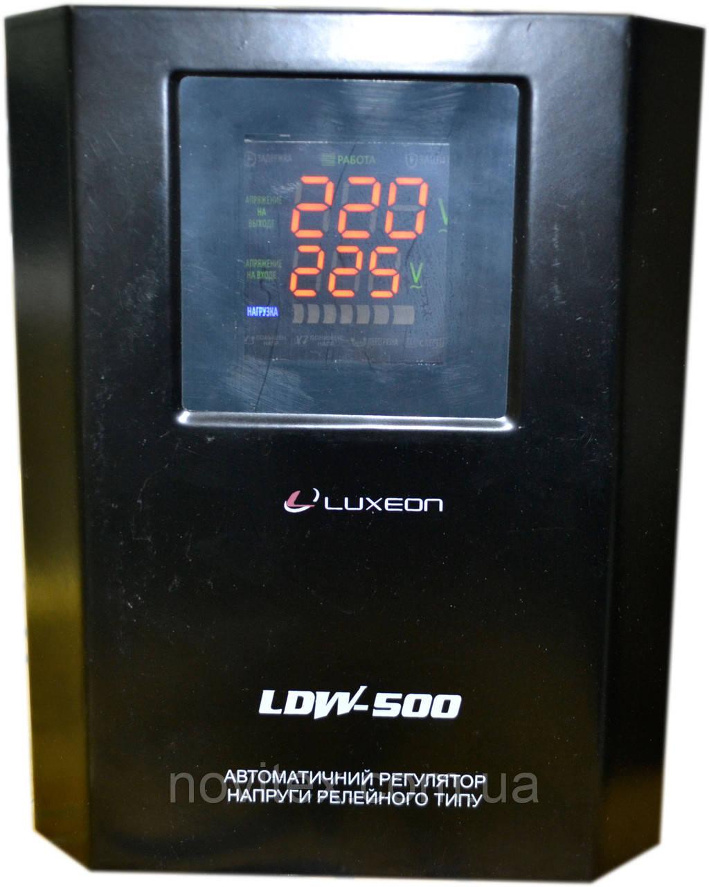 Стабилизатор Luxeon LDW-500VA (300Вт) черный