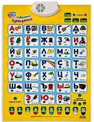 Интерактивный плакат Букваренок 7002 на русском
