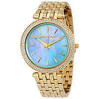 Часы Michael Kors Darci Blue Green Mother of Pearl Dial MK3498