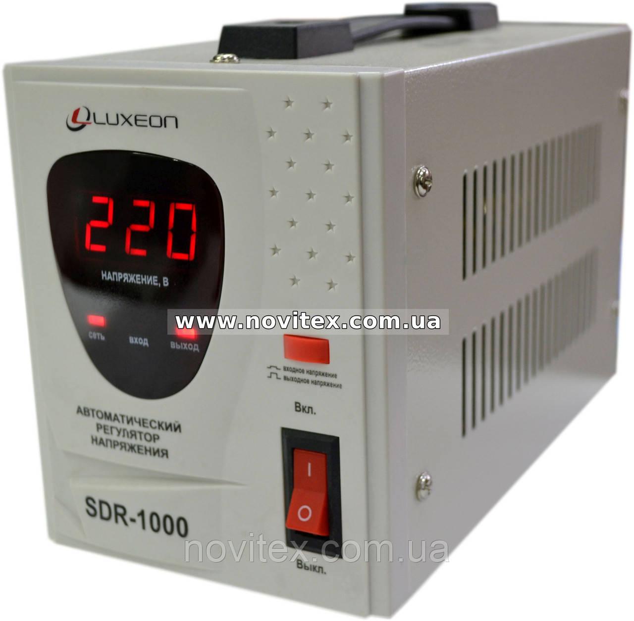 Стабилизатор Luxeon SDR-1000VA (600Вт)