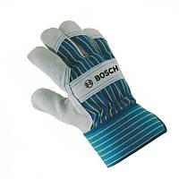 Защитные перчатки с вставками из бычьей кожи Bosch GL SL 10, 2607990105