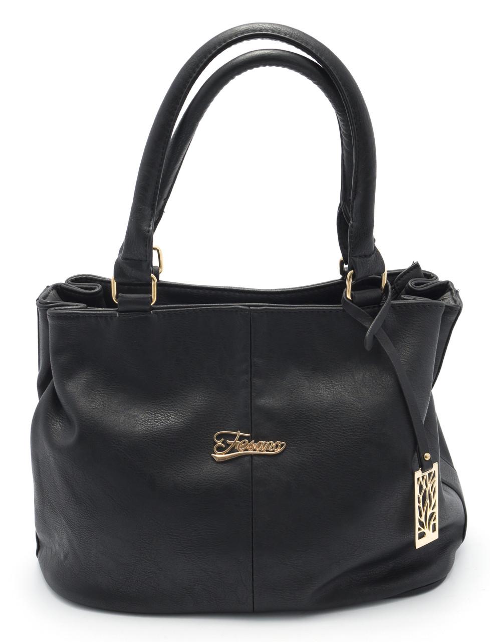 Симпатичная женская черная сумка Б/Н art.2116